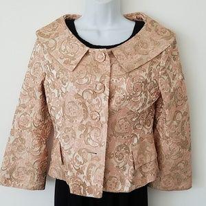 Yolanda baraschi tapestry jacket sz 4